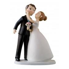 Figura tarta boda personalizada beso