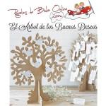 Arbol de los buenos deseos boda - joyero