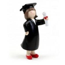 Regalo para graduación CHICA figura