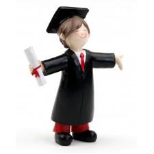 Regalo para graduación CHICO figura