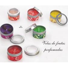 Velas perfumadas frutas