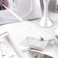 Bolígrafo firmas boda Lazo