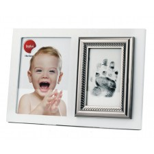 Portafotos marco huella dactilar bebé