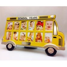 Regalo original para bebe Portafotos-Marco Autobús