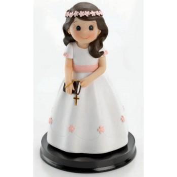 Figura tarta comunión niña GRABADA
