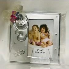 Portafotos bautizo grabado niño o niña