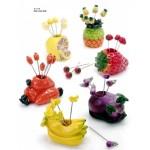 Juego de pinchos frutas