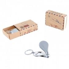 Llavero-abridor-cortauñas GRABADO con caja postal