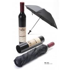 Paraguas de hombre BOTELLA para invitados boda