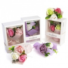 Ramo floral pétalos de JABÓN detalle boda
