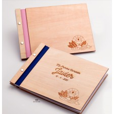 Libro de firmas para comunión GRABADO para niño o niña
