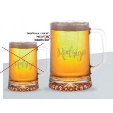 Jarras de cerveza GRANDES grabadas