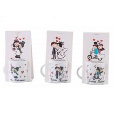 Mini tazas para los invitados a tu boda