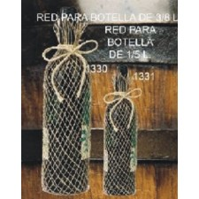 Bolsas de red para botellas de 3/8L