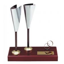 Figura boda Copas Grabada regalo para novios