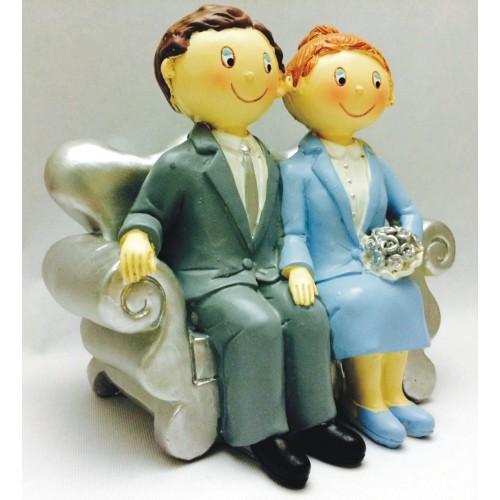 Figura para bodas de plata GRABADA