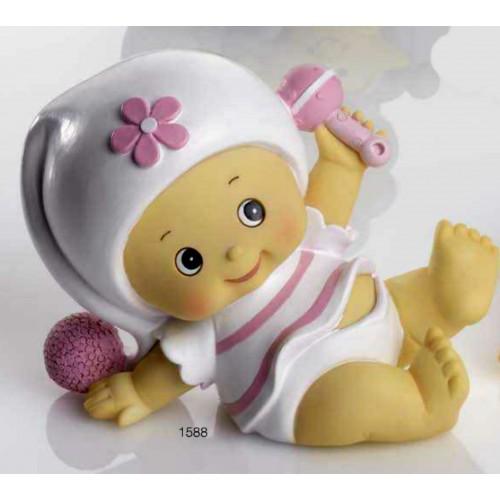 Huchas Para Bebes.Figurita Para Bautizo De Nina Hucha