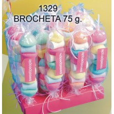 Brocheta con chuches 75g.