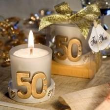 Detalles para invitados bodas de oro VELA