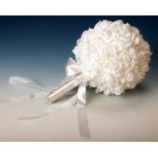 Ramo para pinchar alfileres de boda