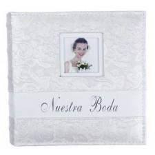 Album de fotos boda grabado