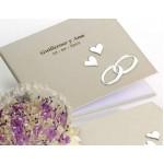 Libro de firmas para boda grabado
