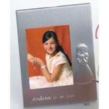 Portafotos comunión grabado NIÑA