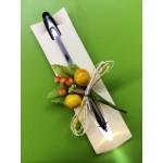 Bolígrafo con linterna de Led y puntero para móvil GRABADO