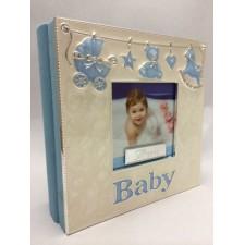 ALBUM de fotos - regalo para bebé NIÑO grabado
