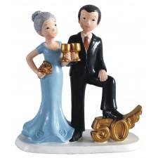 Figuras 50 aniversario muñecos pastel baratas