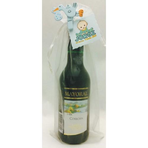 Botellas De Vino Para Regalar En Bautizos.Botella De Vino Pequena Para Boda Bautizo Comunion
